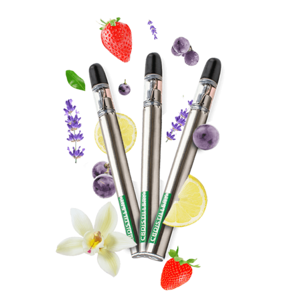 CBDistillery CBD Vape Pen – 200mg – Flavor Burst Variety Three Pack