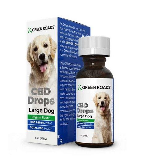 GreenRoads CBD Drops Large Dogs Formula