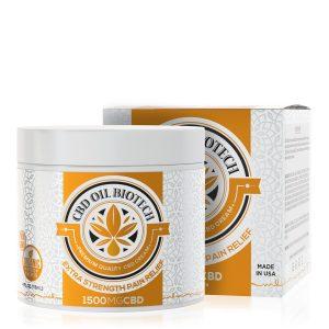 CBD Oil Biotech Cream - 1500mg
