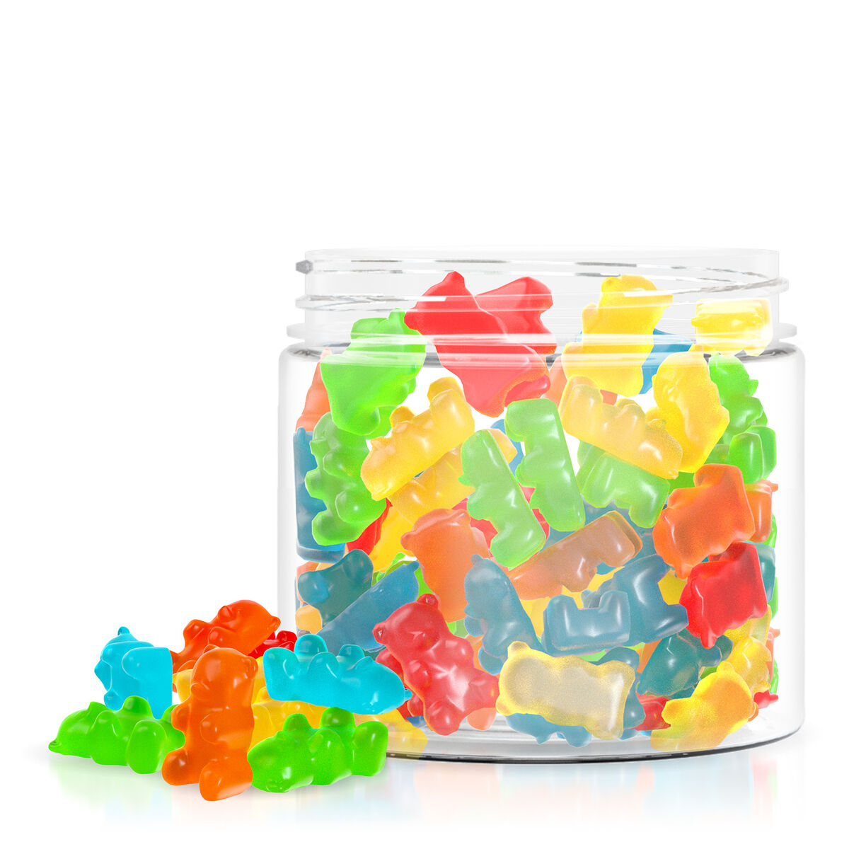Relax Gummies - CBD Infused Gummy Bears - 1000mg