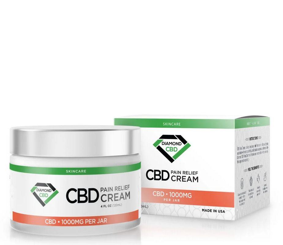 Diamond CBD Pain Relief Cream - 1000mg