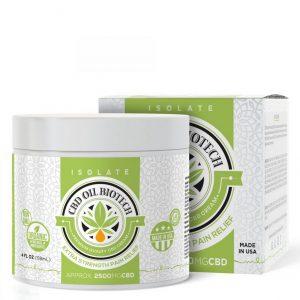 CBD Oil Biotech Cream - 2500mg