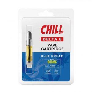 Chill Plus Delta-8 Vape Cartridge - Blue Dream - 900mg (1ml)