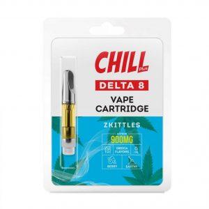 Chill Plus Delta-8 Vape Cartridge - Zkittles - 900mg (1ml)